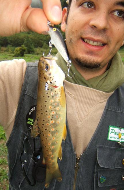 La pesca nella caduta in Siberia
