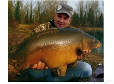 25,4 kg, una meravigliosa cattura con Frolic sul fiume Po