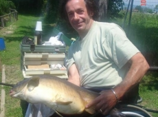 Maurizio da Camaiore,Carpa kg 8,70