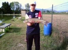 Amur 2,56 kg pescato a Prato
