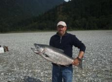 Un bel Salmone di 15 Kg
