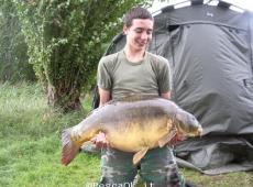 Carpa record 18 kg