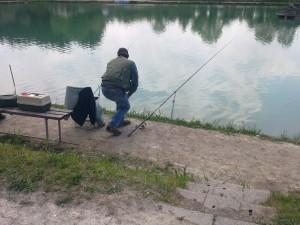 pesca in laghetto