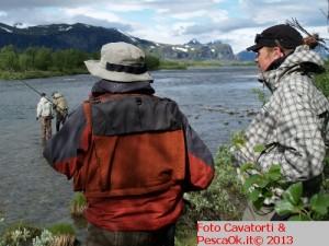 pescare il Lapponia