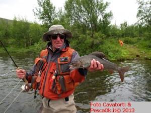 pescare in Lapponia