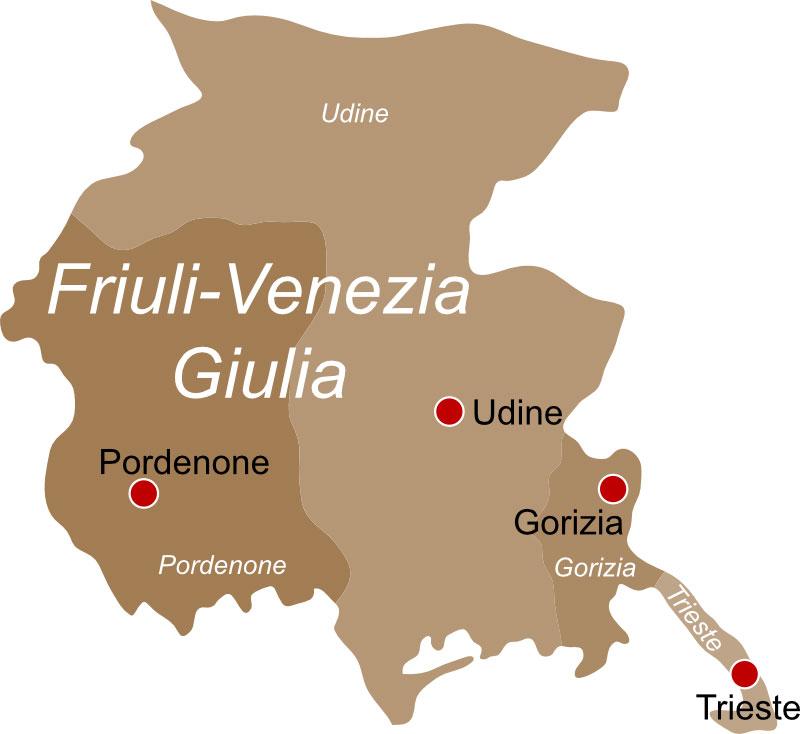 Regione Friuli Venezia Giulia info pesca sportiva e licenza - PescaOk.it