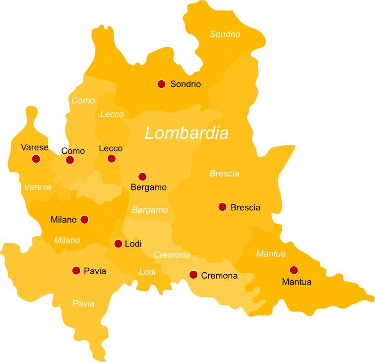 Lombardia Cartina Province.Regione Lombardia Info Pesca Sportiva E Licenza Pescaok It
