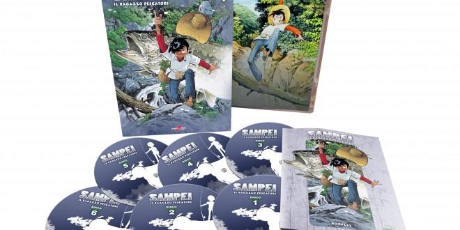 Sampei in DVD: dal 14 aprile 2016, il primo cofanetto del manga giapponese