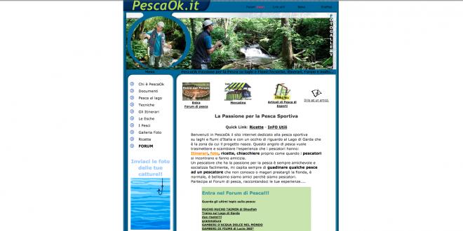 Passione per la pesca da PescaOk del 2005