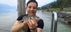 A pesca di persici sul Garda